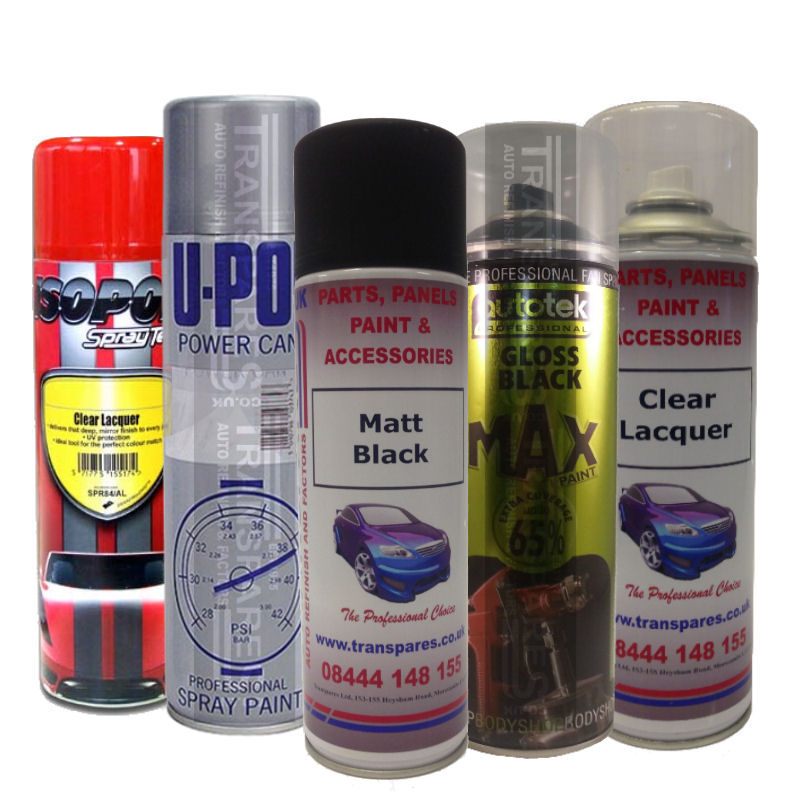 Aerosol Bumper Paints & Stone Chip