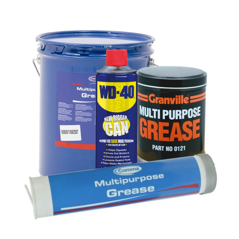 Greases And Maintenance Fluids