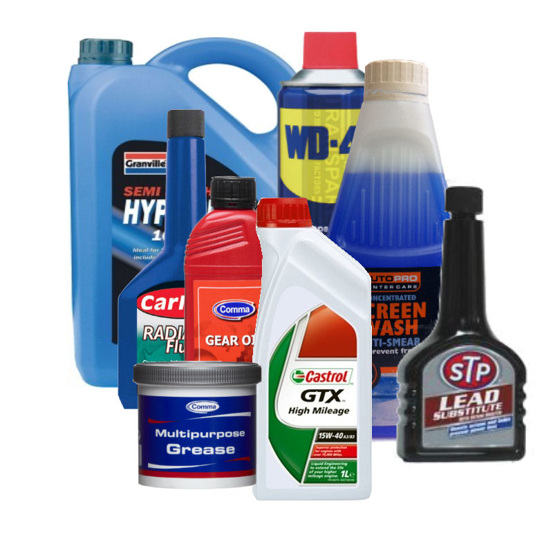 Lubricants, Fluids And Additives
