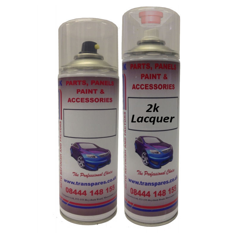 2k Clear Coat Any Make, Any Model Exact Colour Match Aerosol Kit (Choose Your Colour Code)