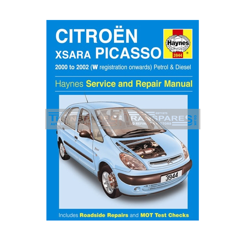 Citroen xsara picasso repair manual haynes manual service manual.