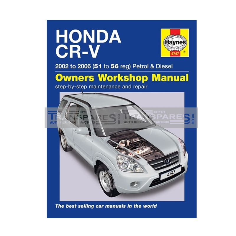 Honda CR-V Petrol & Diesel Haynes Manual
