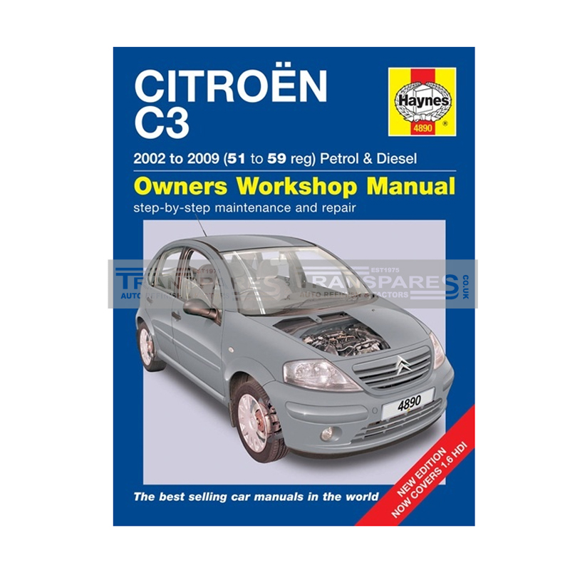Citroen C3 Petrol and Diesel Haynes Manual