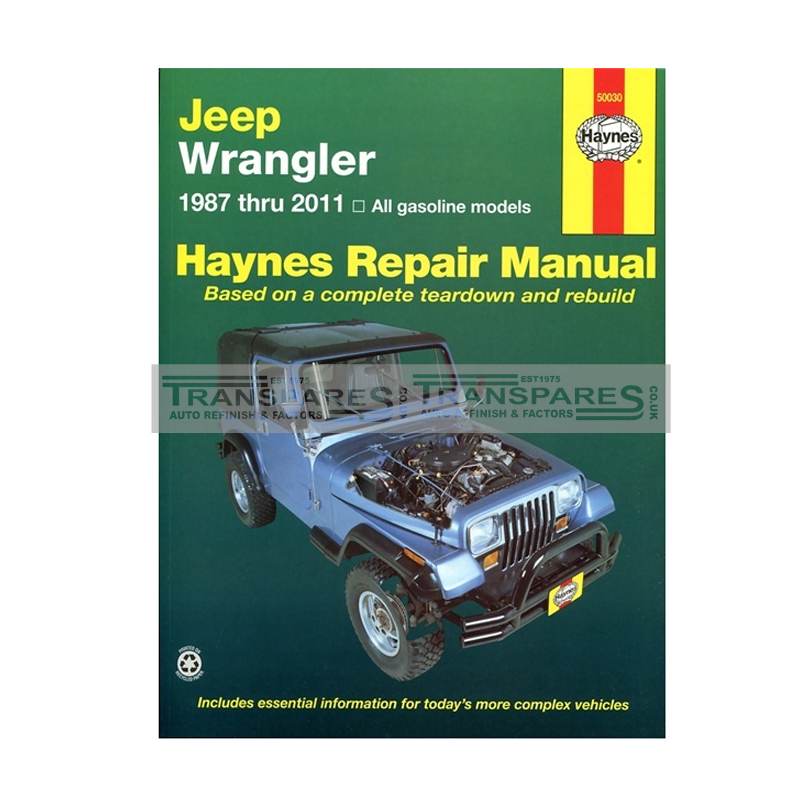 Jeep Wrangler Haynes Manual