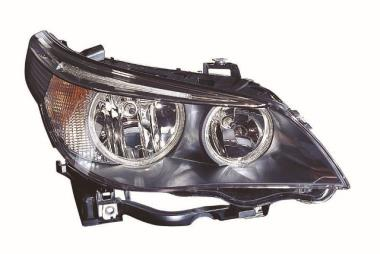 BMW 5 Series Saloon (E60) Headlamp Driver Off Side