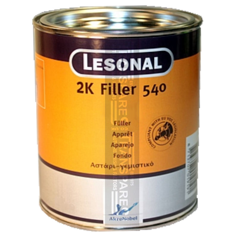 Lesonal 2K 540 Filler Primer White 3L