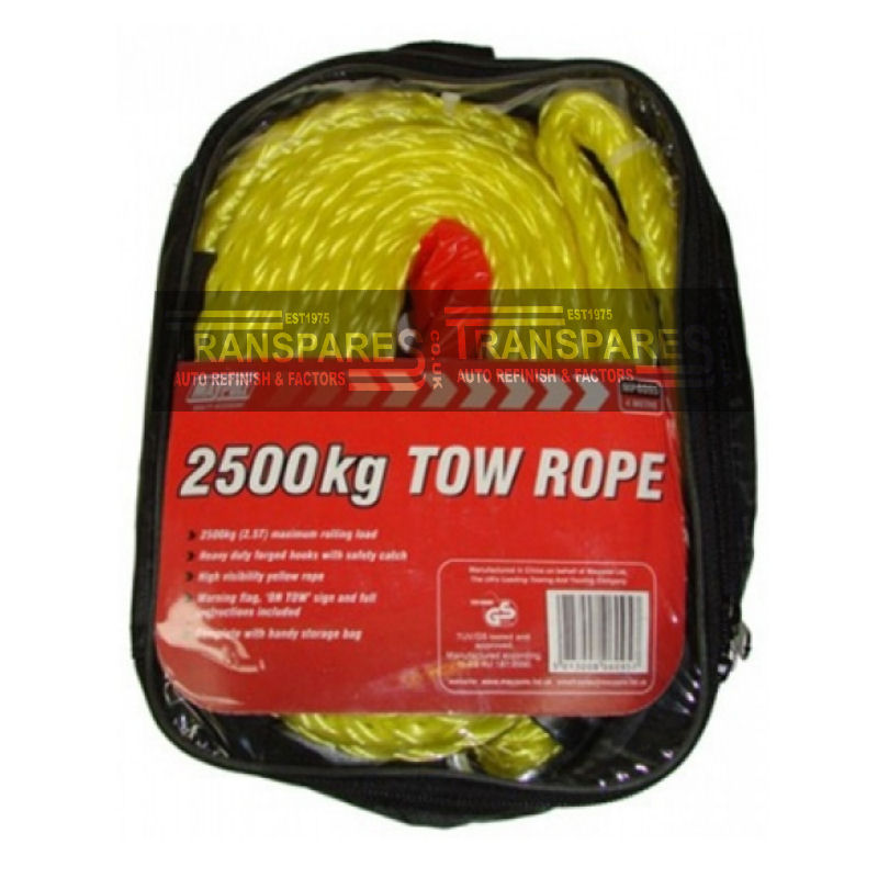 Maypole 2500kg Tow Rope 4m