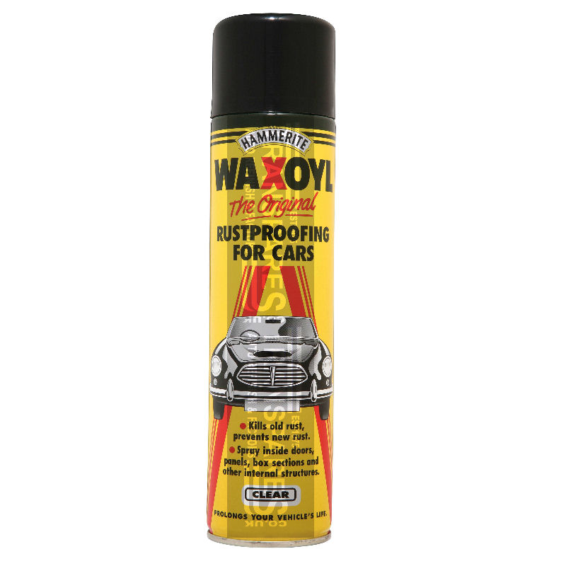 Hammerite Waxoyl Aerosol Can Clear 400ML