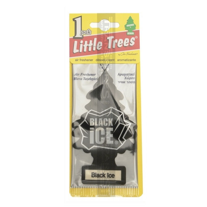 Magic Tree Air Freshener - Black Ice