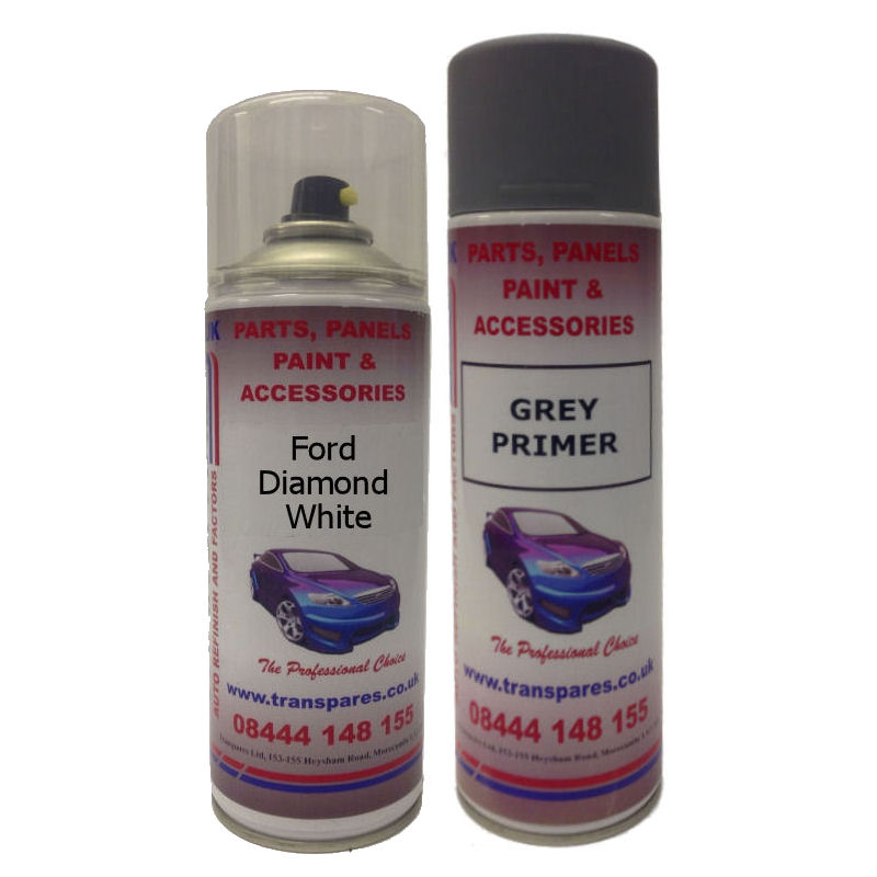 Ford Diamond White Spray Paint