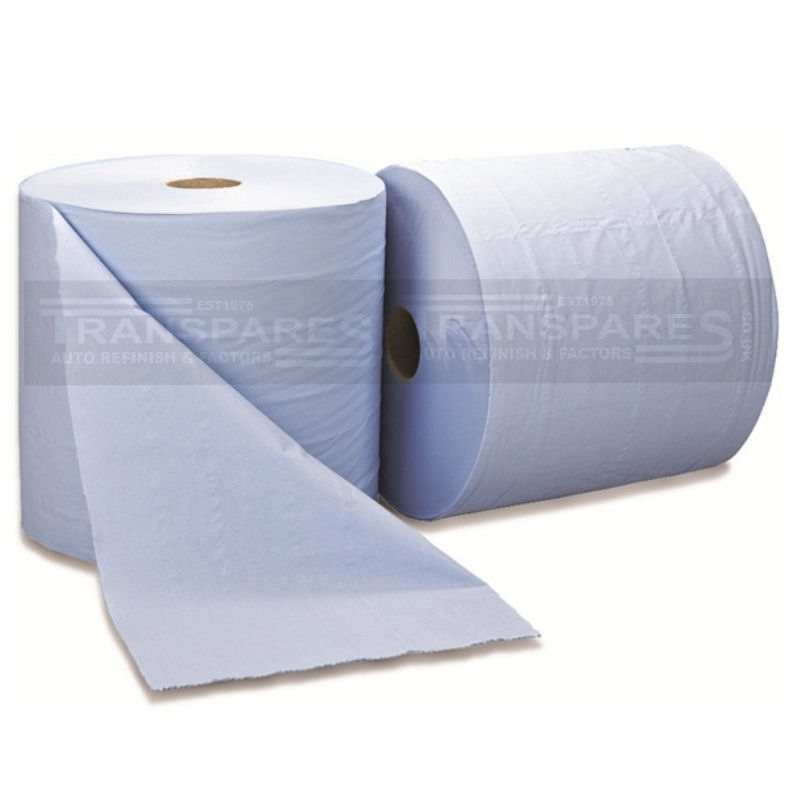 Blue Centrefeed Roll 2 Pack 400m
