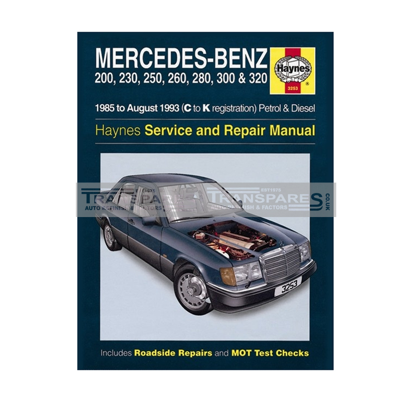 Mercedes-Benz Petrol & Diesel Haynes Manual