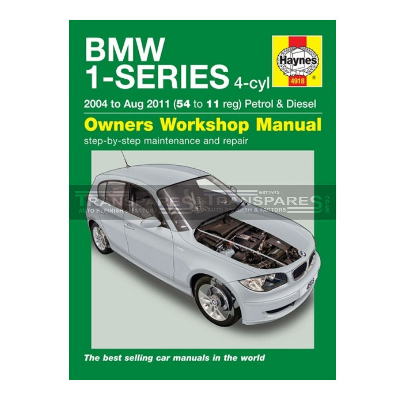 BMW 1 Series Petrol & Diesel Haynes Manual