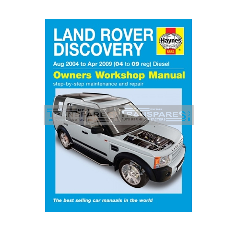 Land Rover Discovery Diesel Haynes Manual
