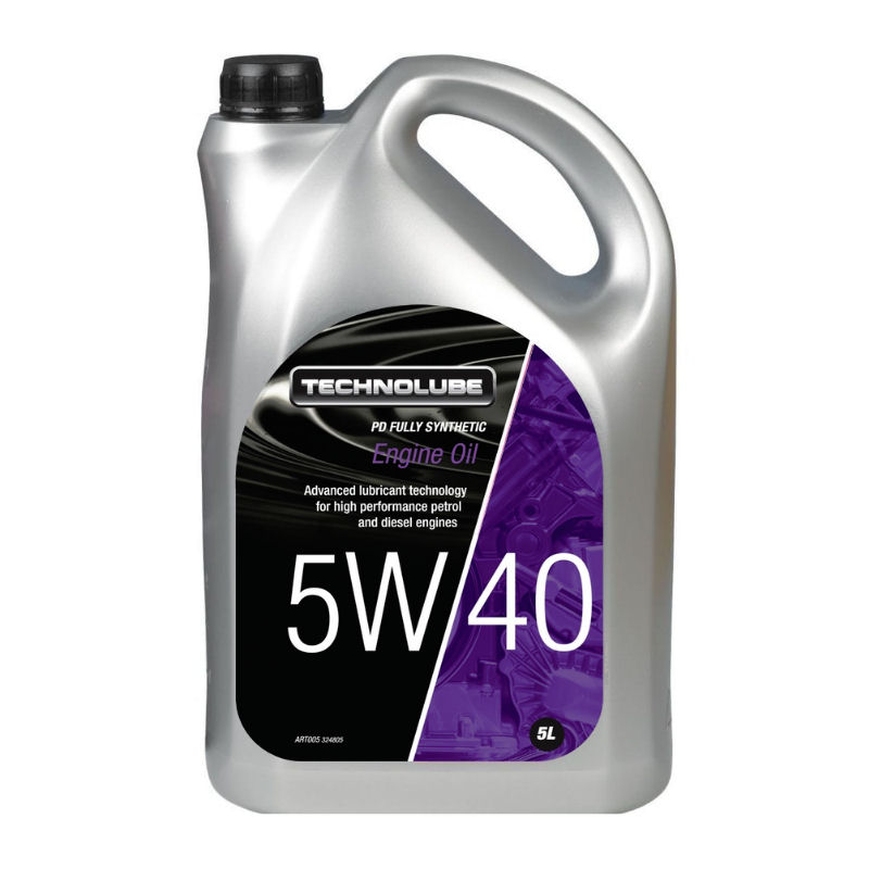 Technolube 5W40 PD Fully Synthetic 5L