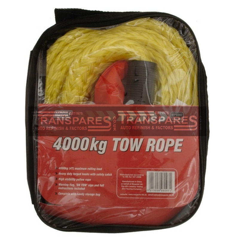 Maypole 4000kg Tow Rope 4m