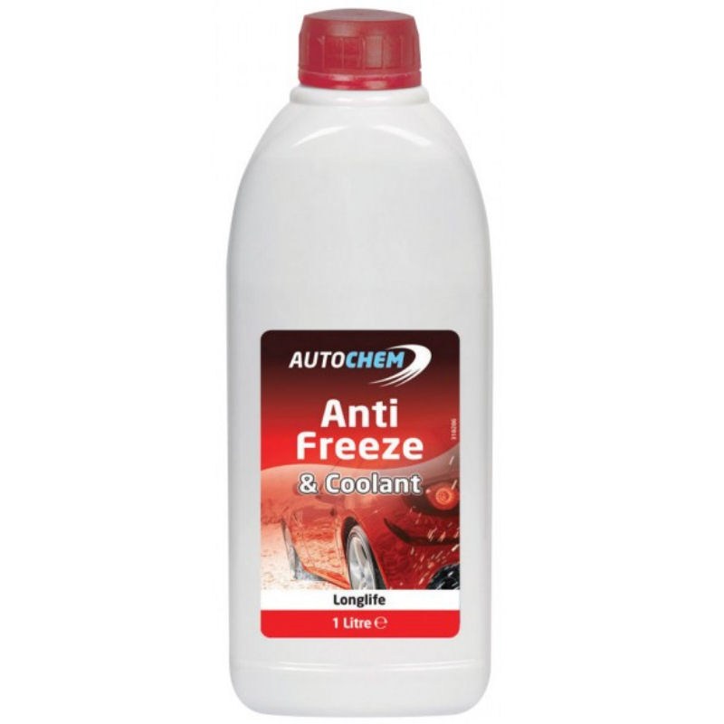 Autochem Anti Freeze Red 1L Concentrated