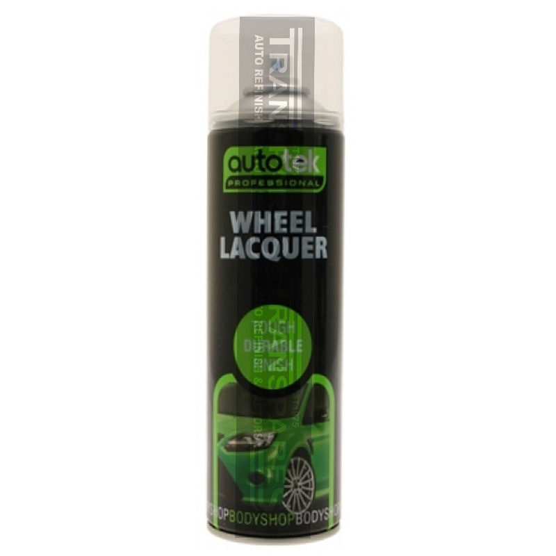 Autotek Wheel Lacquer Aerosol 500ml