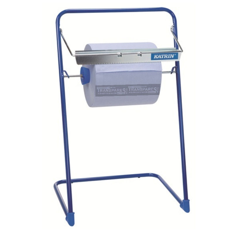 Blue Centrefeed Roll Floor Stand