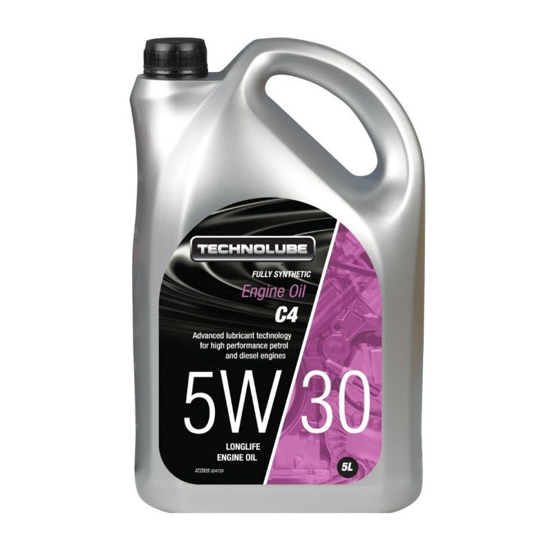 Technolube 5W30 Fully Synthetic C4 5L