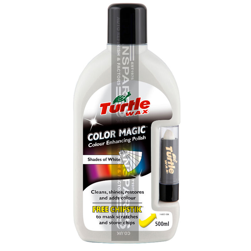 Turtle Wax Color Magic Plus White