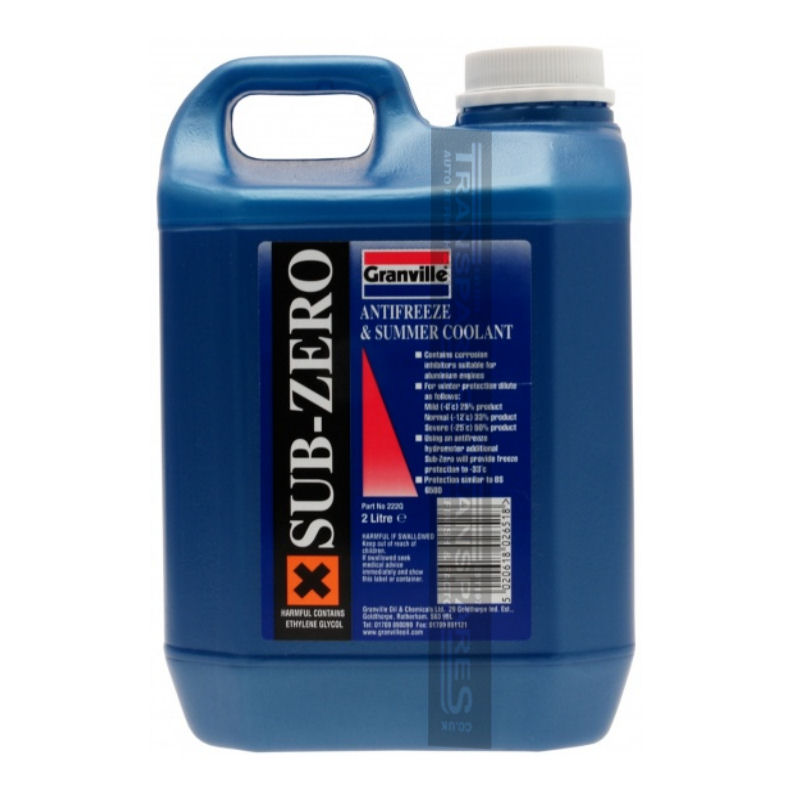 Granville Blue Anti Freeze 2L Concentrated