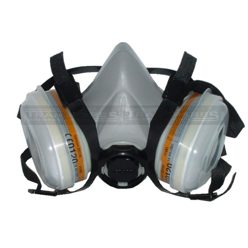 Gerson Maintenance Free Dual Cartridge Respirator