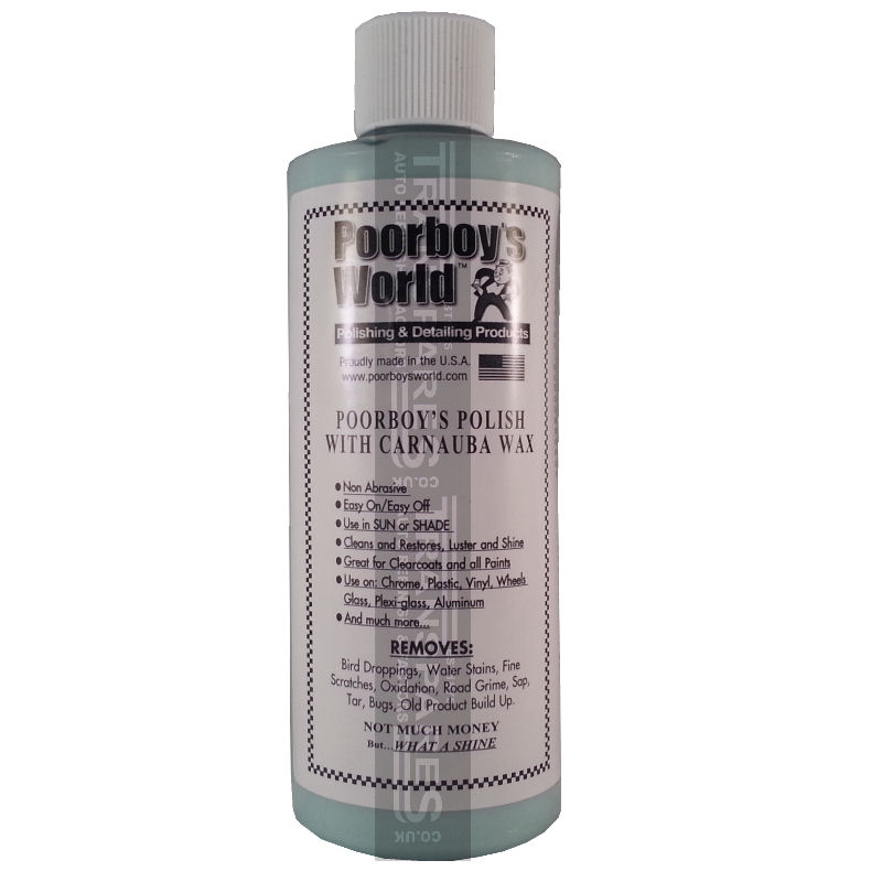 Poorboys World Polish With Carnuba Wax Blue 473ml