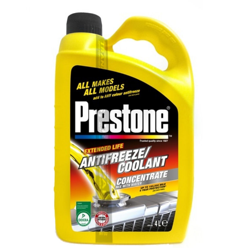Prestone Antifreeze Concentrate 4L