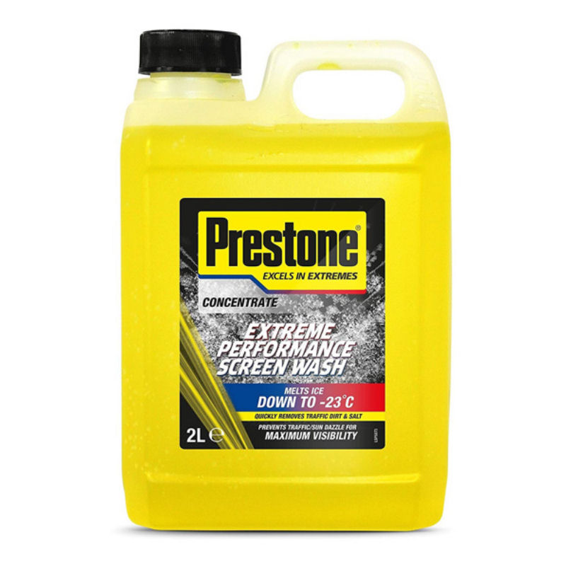 Prestone Concentrated -18c Screen Wash 2L