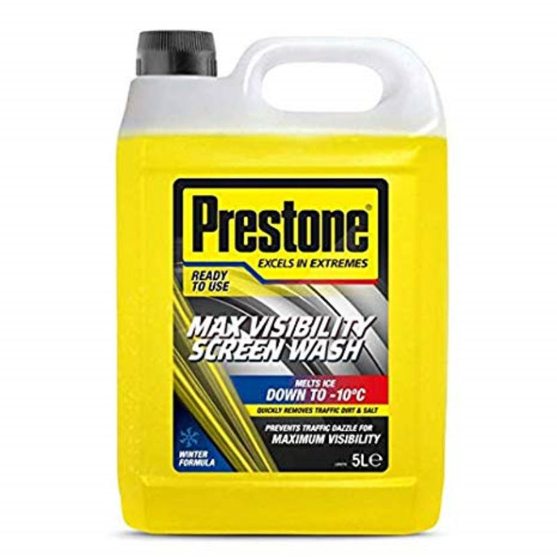 Prestone Screen Wash Max Visibility 5L -10C WINTER RFU