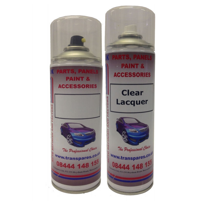 Mercedes Benz Exact Colour Match Aerosol Kit (Enter Your Colour Code)