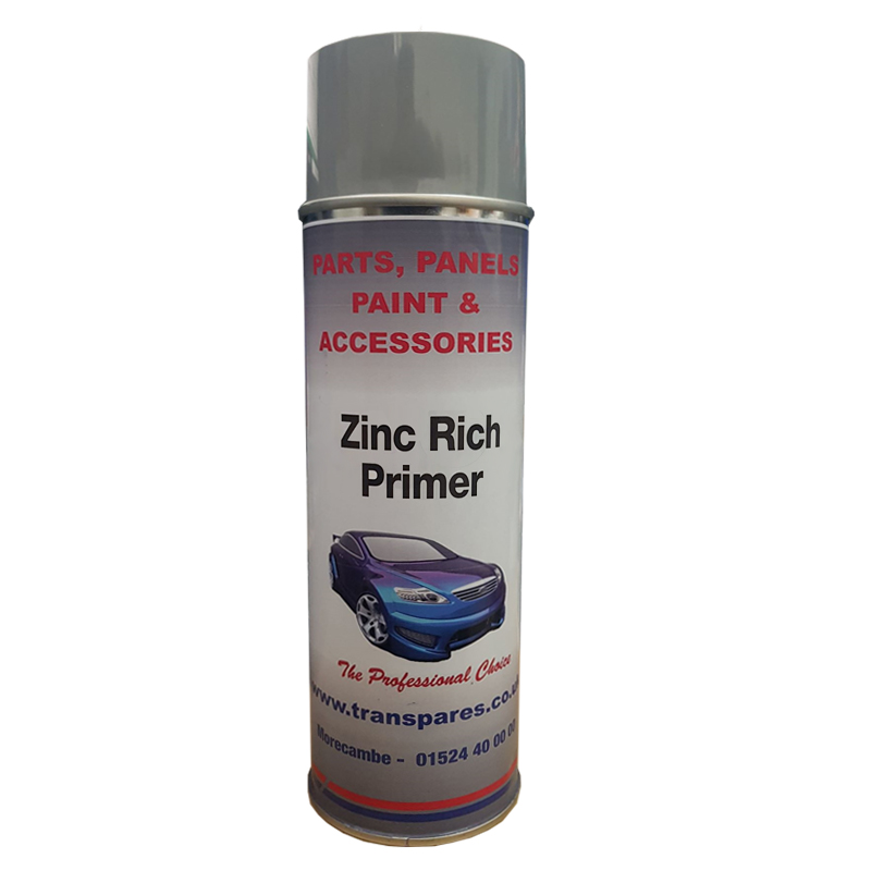 Transpares Zinc Rich Primer Aerosol (500ml)